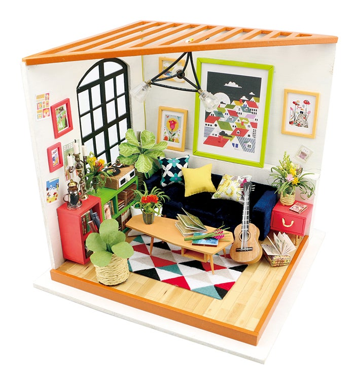 Locus39 Sitting Room DIY Miniature Dollhouse
