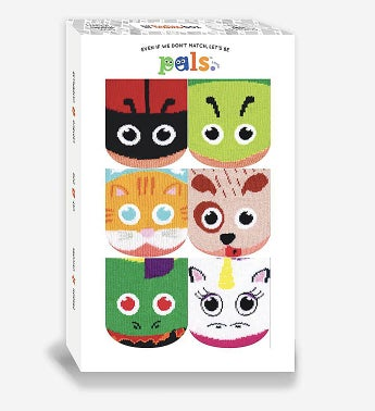 Funky Friend Sock Gift Box  Kids 4-8 Years