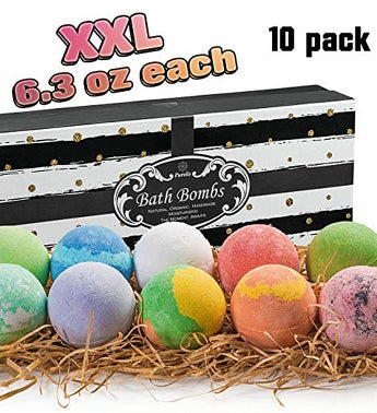 USA Deluxe Natural Bath Bomb Set by Purelis Natural