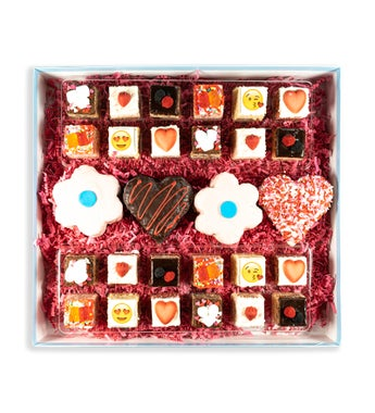 Deluxe Valentines Assortment of Rice Krispie Treats from Treat House
