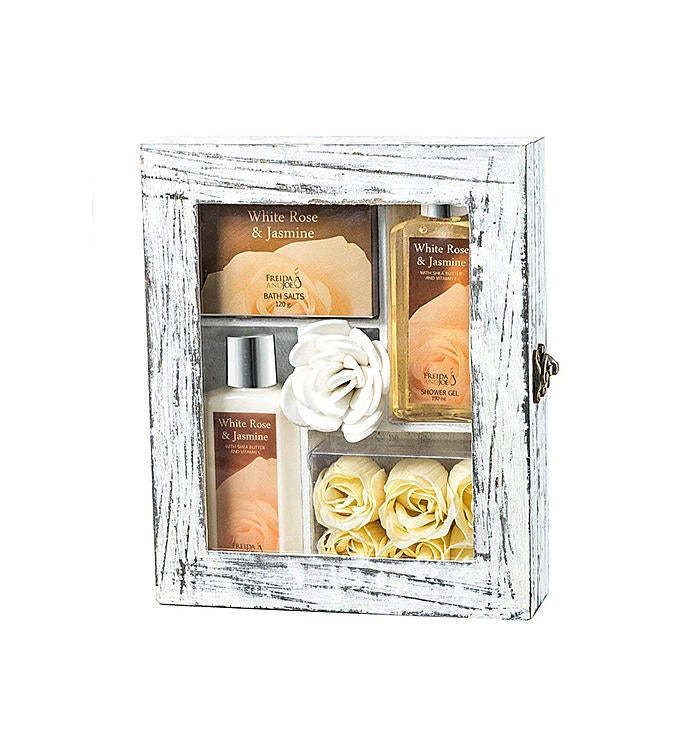White Rose and Jasmine Luxury Spa Gift Set